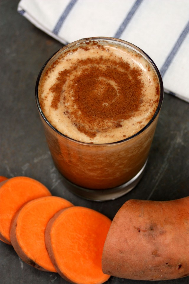 Recipe of the Month – Sweet Potato Pie Smoothie