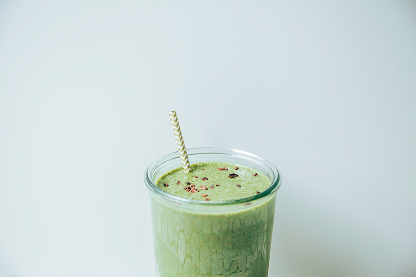 Cucumber Mint Chip Smoothie
